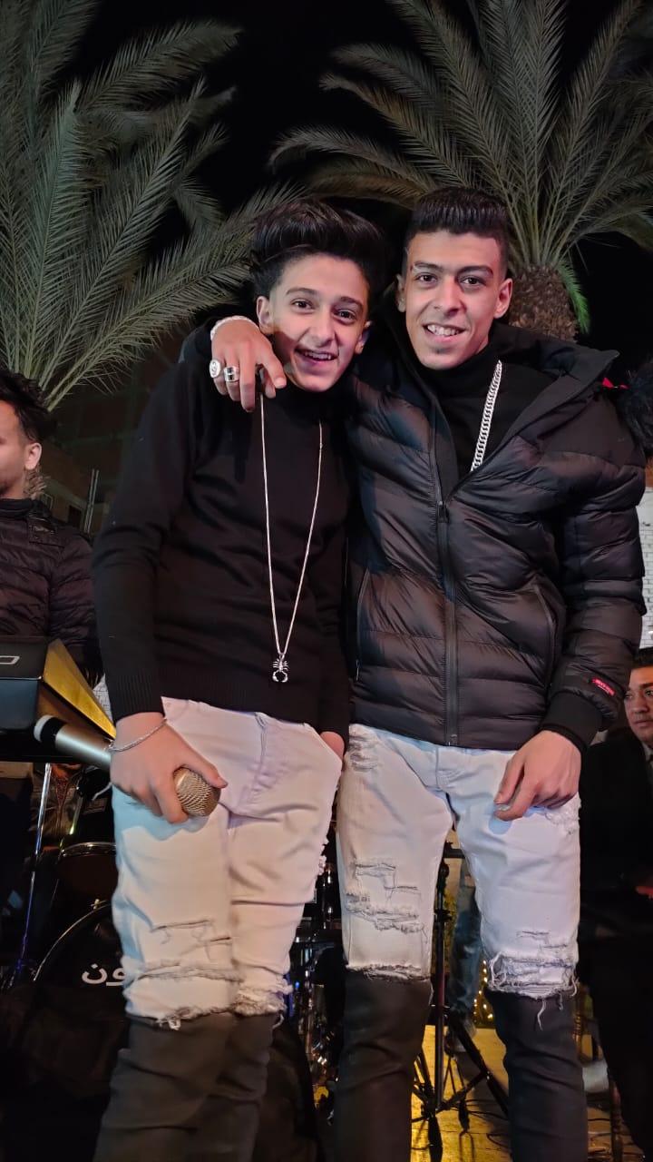 """أسرة التايم المصرية ونقيب الاعلاميين بالجيزة يقدمون التهاني لـ السيد """"عمرو المدنى """" بمناسبة عيد ميلاد كروان مصر"""
