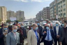 Photo of محافظ بورسعيد ورئيس حى المناخ خلال جولة تفقدية ببعض الشوارع بنطاق حى المناخحى