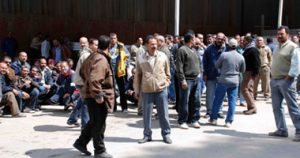 عمال مصنع مصر للألومنيوم يعتصمون بعد خسائر فادحة