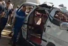 Photo of انقلاب سيارة ميكروباص واصابة 8 أشخاص بالقليوبية