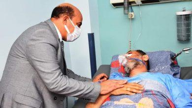 Photo of محافظ أسوان يقوم بزيارة مستشفى أسوان الجامعي للأطمئنان على السيد الإدريسى والمرضى