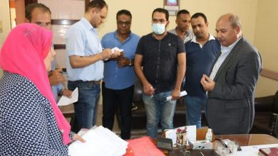 Photo of السكرتير العام يتابع ملفات التصالح في مخالفات البناء بمركز منوف